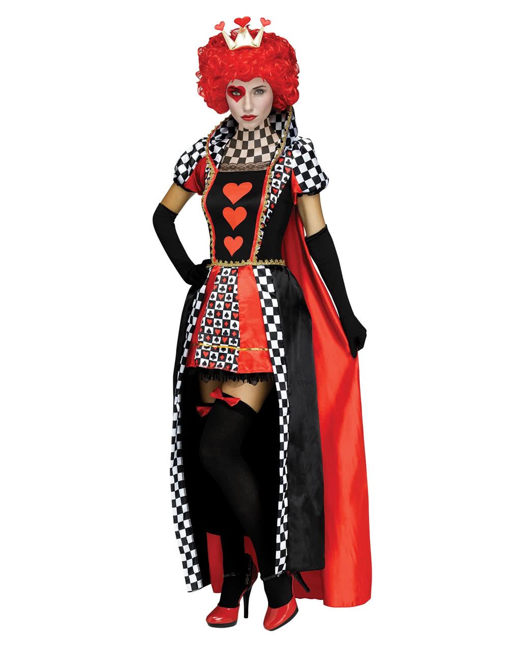 Herz Konigin Kostum Halloween Verkleidung Horror Shop Com