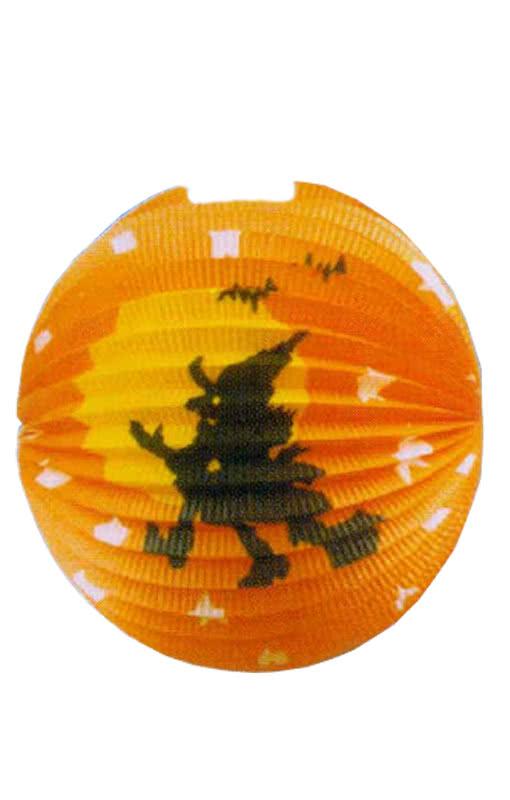 Hexen Lampion Rund 22cm