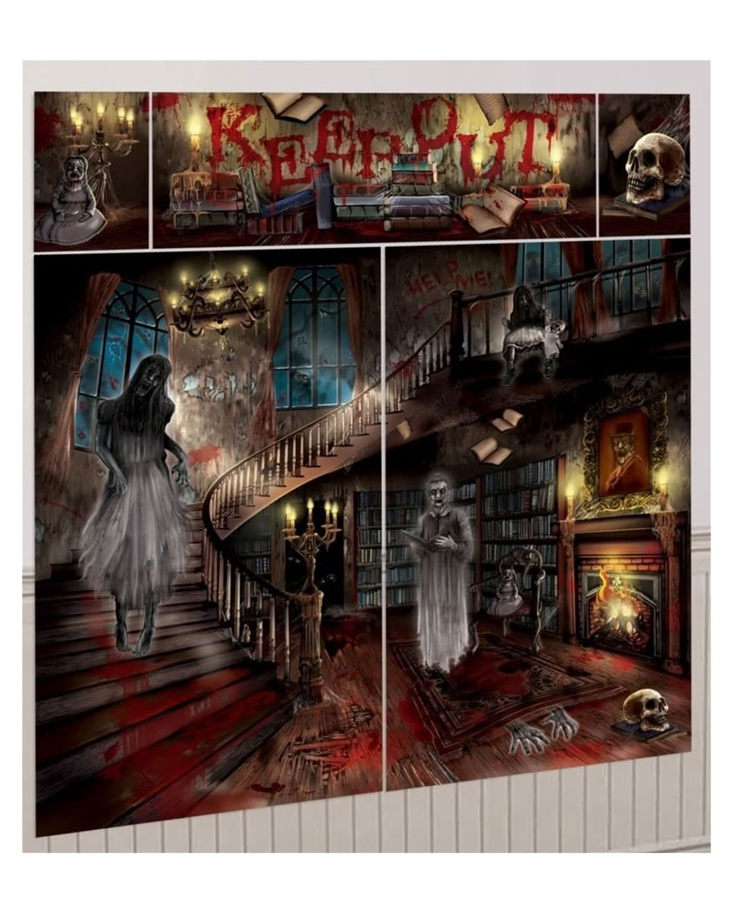 Halloween Deko Folien | Halloween & Horror Dekoration | Horror-Shop.com