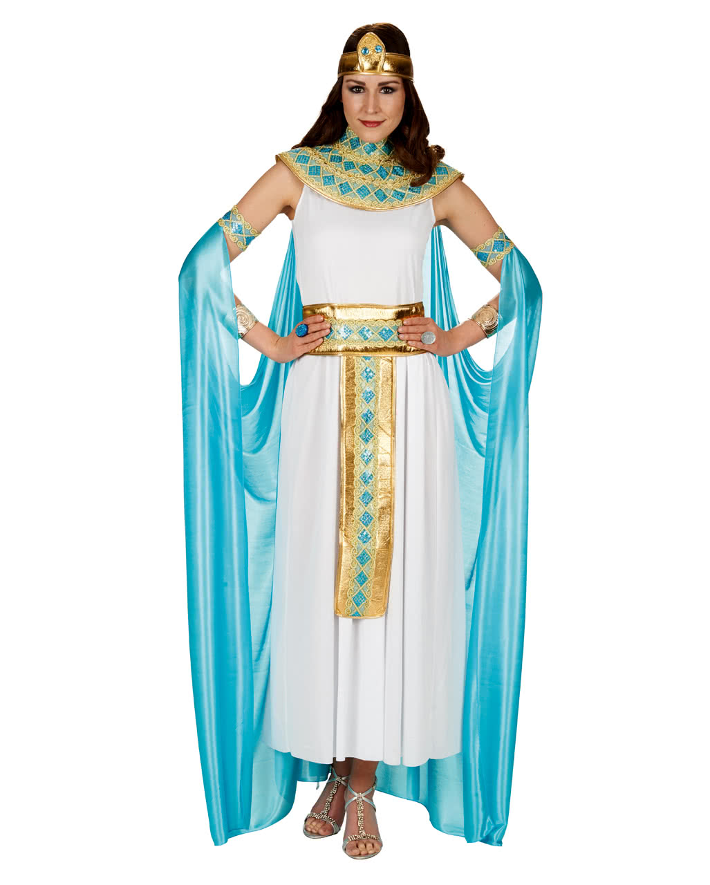 Cleopatra Costume With Cape As carnival costume | horror-shop.com