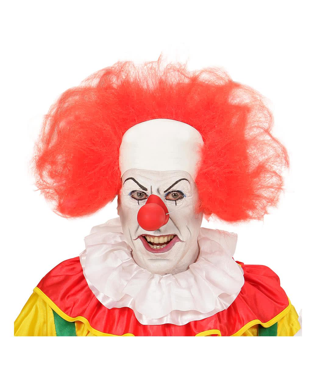 Clown Bald With Red Hair Ring Horror Clown Wig Horror Shop Com
