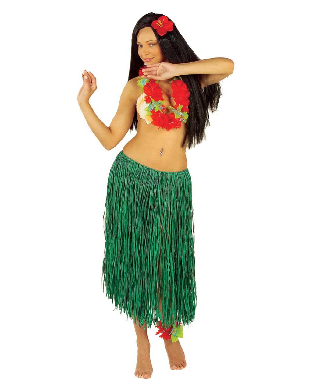 3f40469e9 hula skirt green | Hawaii Hula Skirt | horror-shop.com