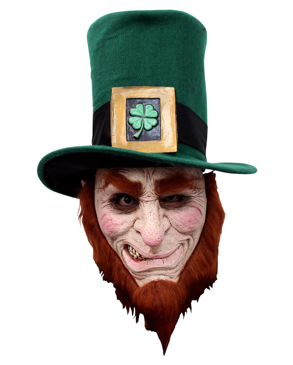 c3391d26767 Irish Goblin Mask with Beard Goblin Mask