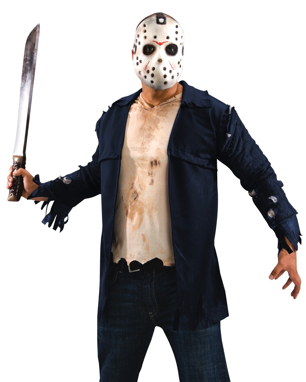 jason deluxe costume with hockey mask | horror-shop