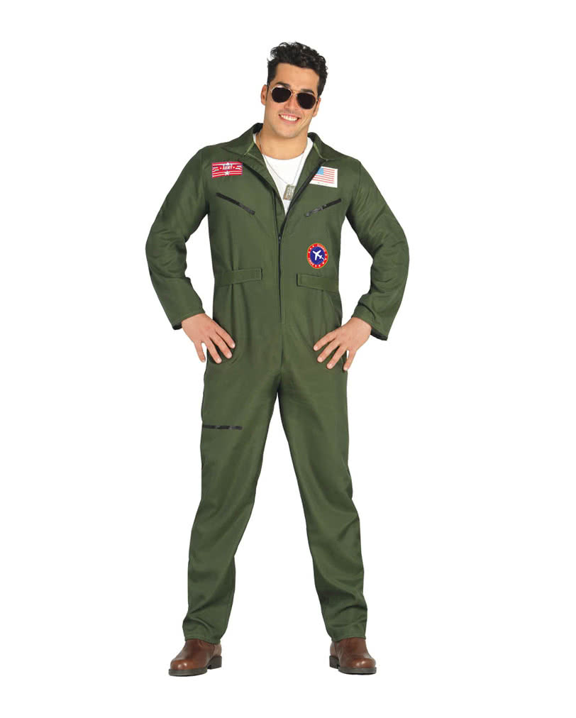 Jet Pilot Costume  sc 1 st  Horror-Shop & Jet Pilot Costume Fighter Pilot Costume | horror-shop.com