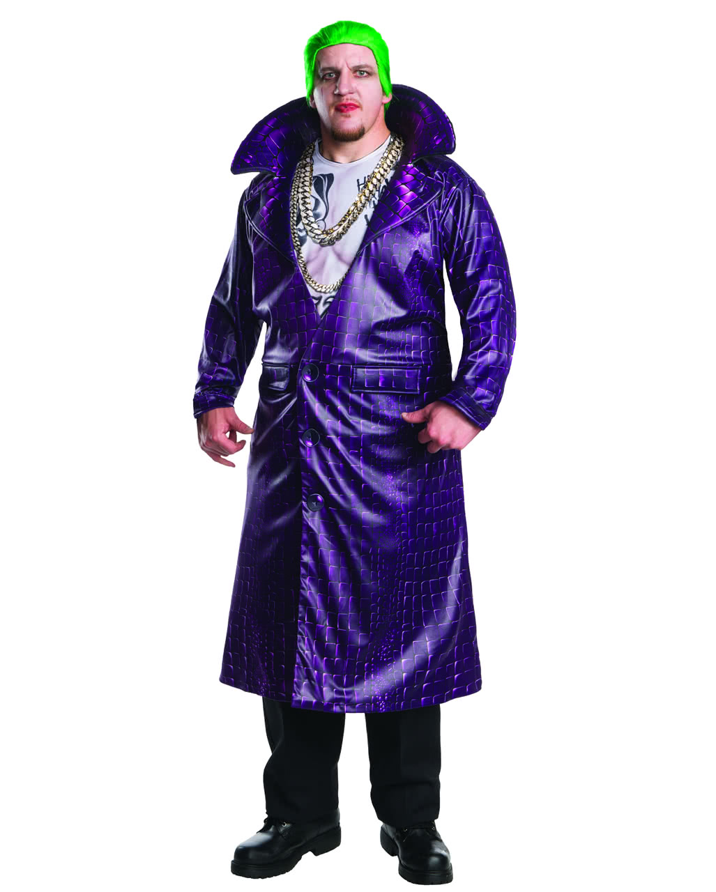 Joker Kostum Deluxe Plus Size Suicide Squad Horror Shop Com