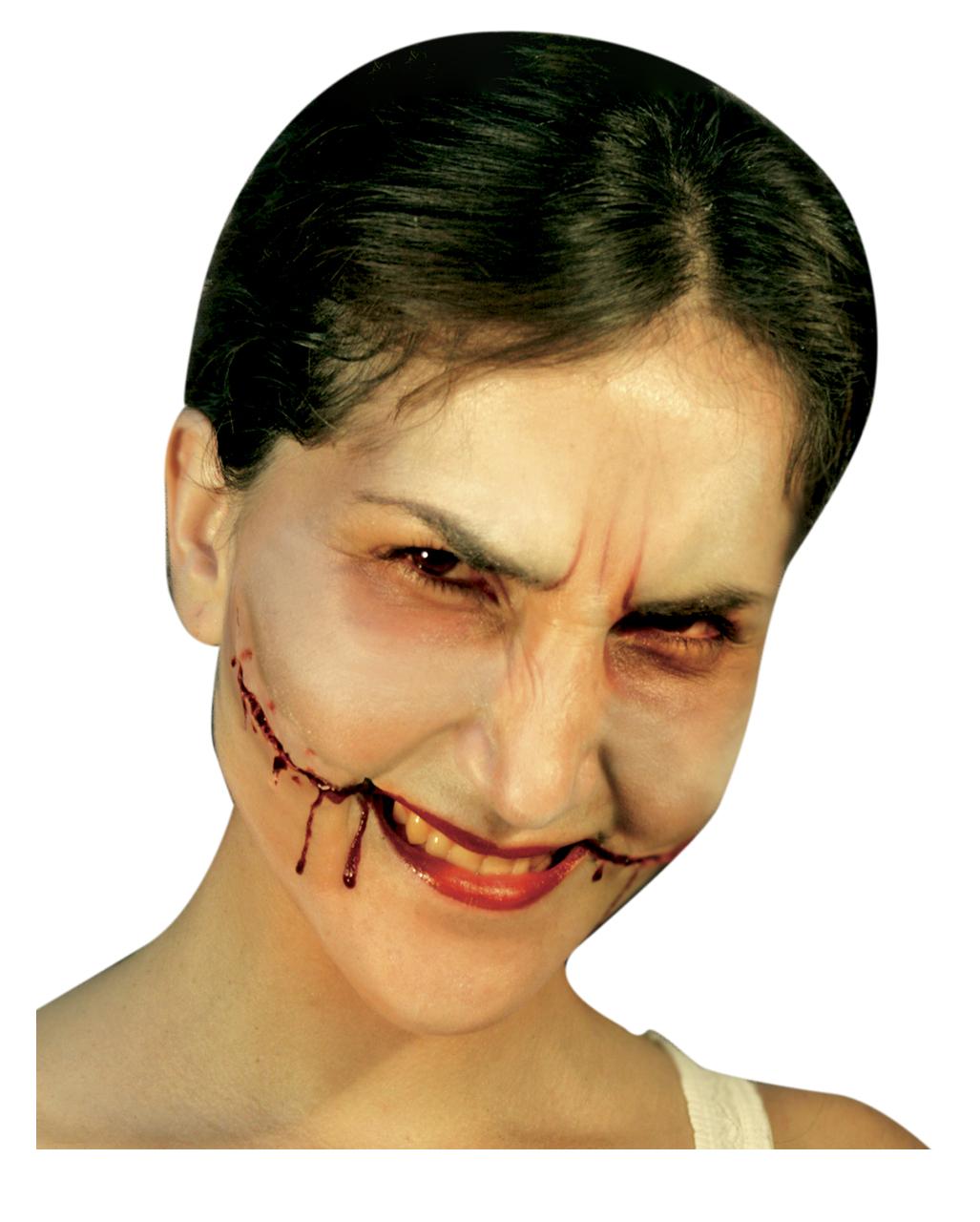 Joker Smile Latexwunde Halloween Make Up Horror Shop Com