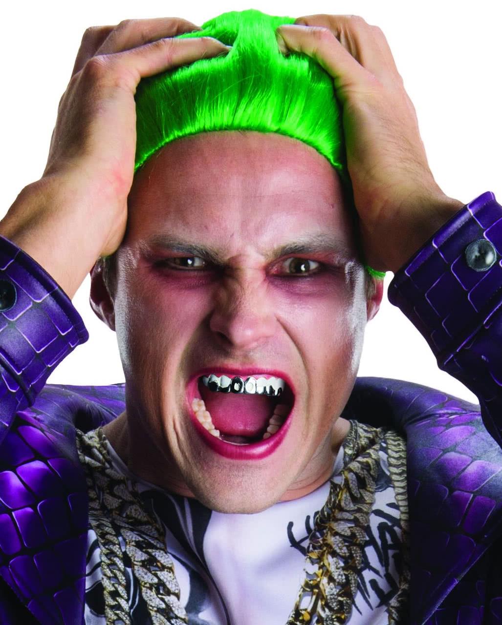 Joker Zahne Aus Suicide Squad Scherzgebiss Horror Shop Com