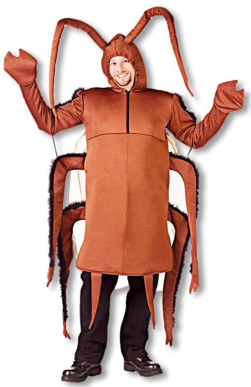 Kakerlaken Kostum One Size Kuchenschabe Kostum Tierkostum Horror