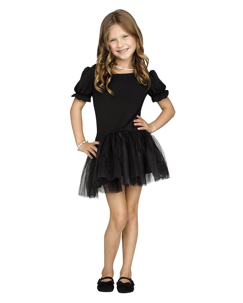 Pettidress Kleid Für Mädchen Schwarz Kostüm Accessoires Horror