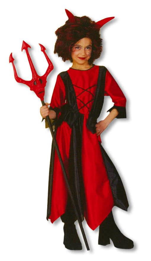 Child Costume Devil Devil Costume Girls Fancy Dress Devil   horror ...
