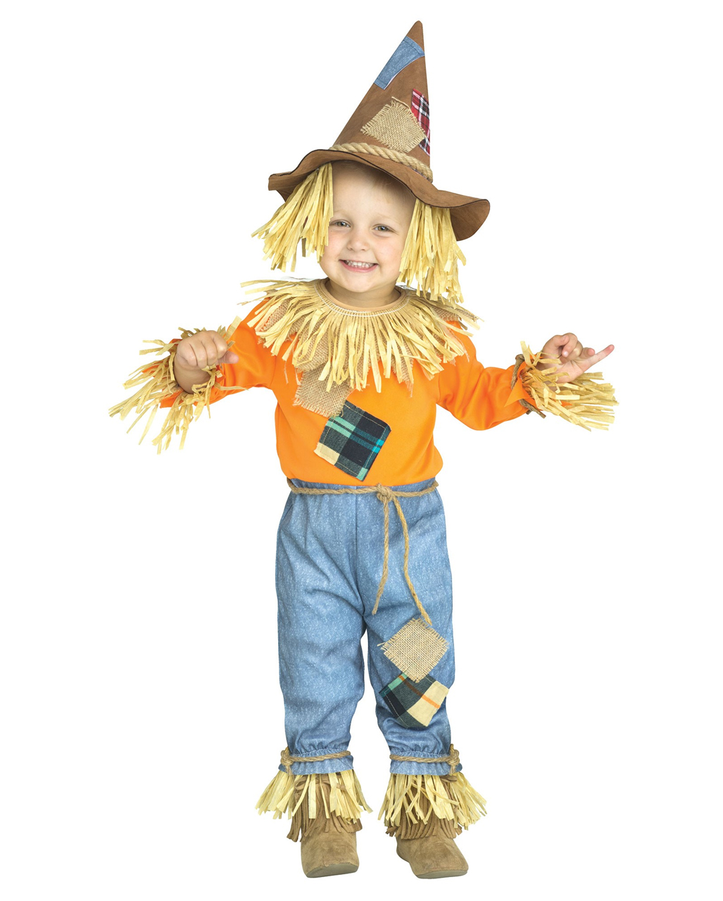 little scarecrow toddler costume for halloween | horror-shop