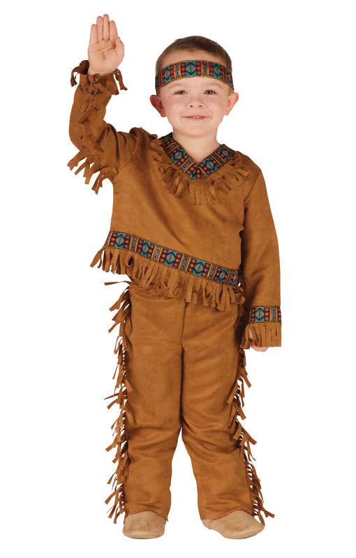 Kleiner Indianer Kostum Kinder Faschingskostum Horror Shop Com