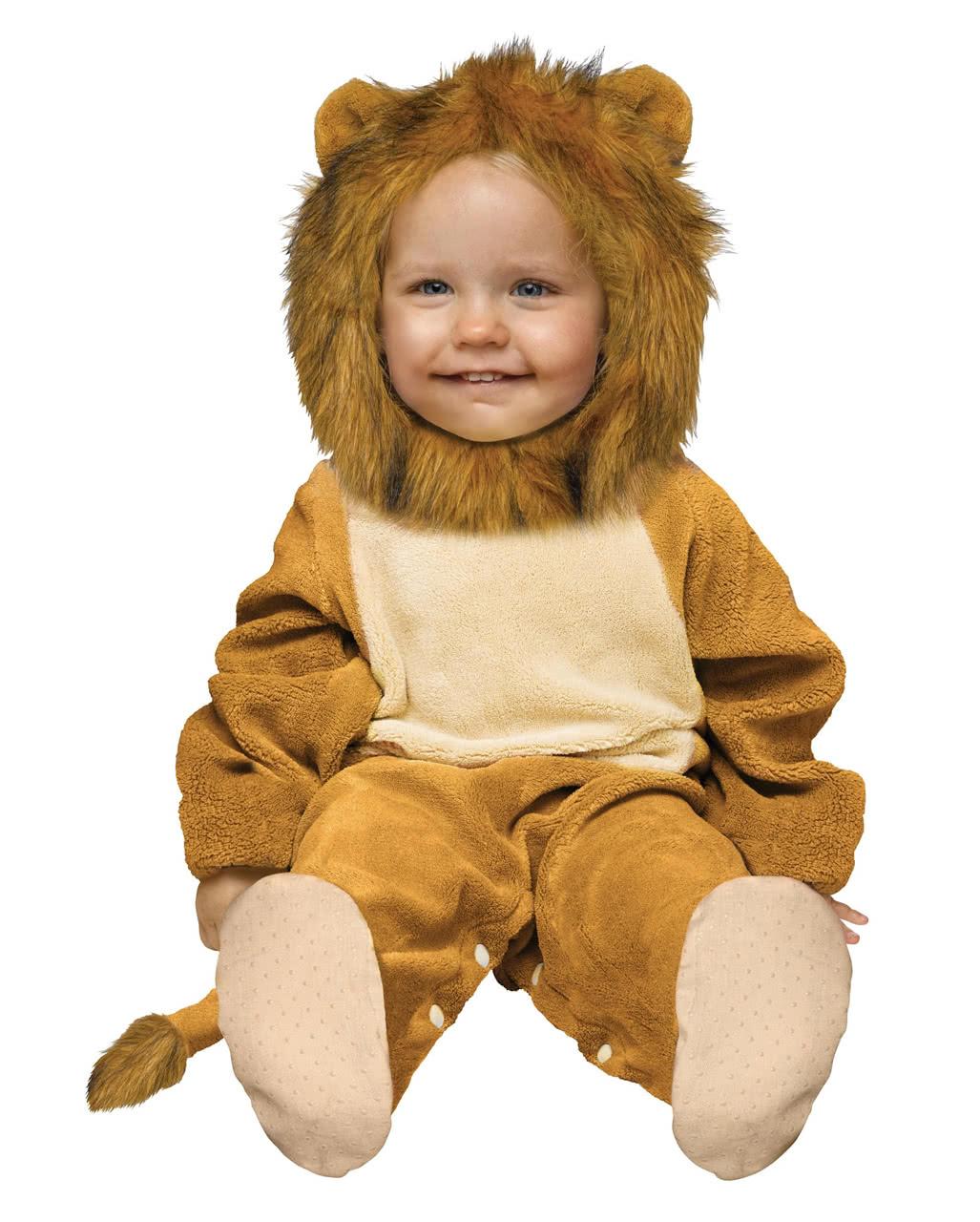Kuschliger Lowe Babykostum 12 24 Mo Als Tierkostum Horror Shop Com