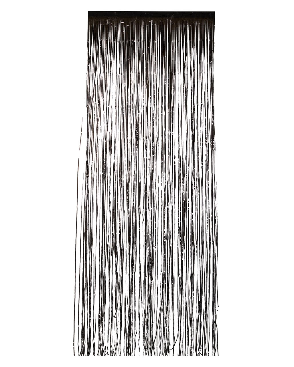 Tinsel Curtain Black For Halloween