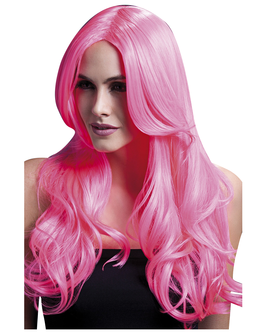 Women Wig Khloe Neon Pink Anime Wig Cosplay Horror Shop Com