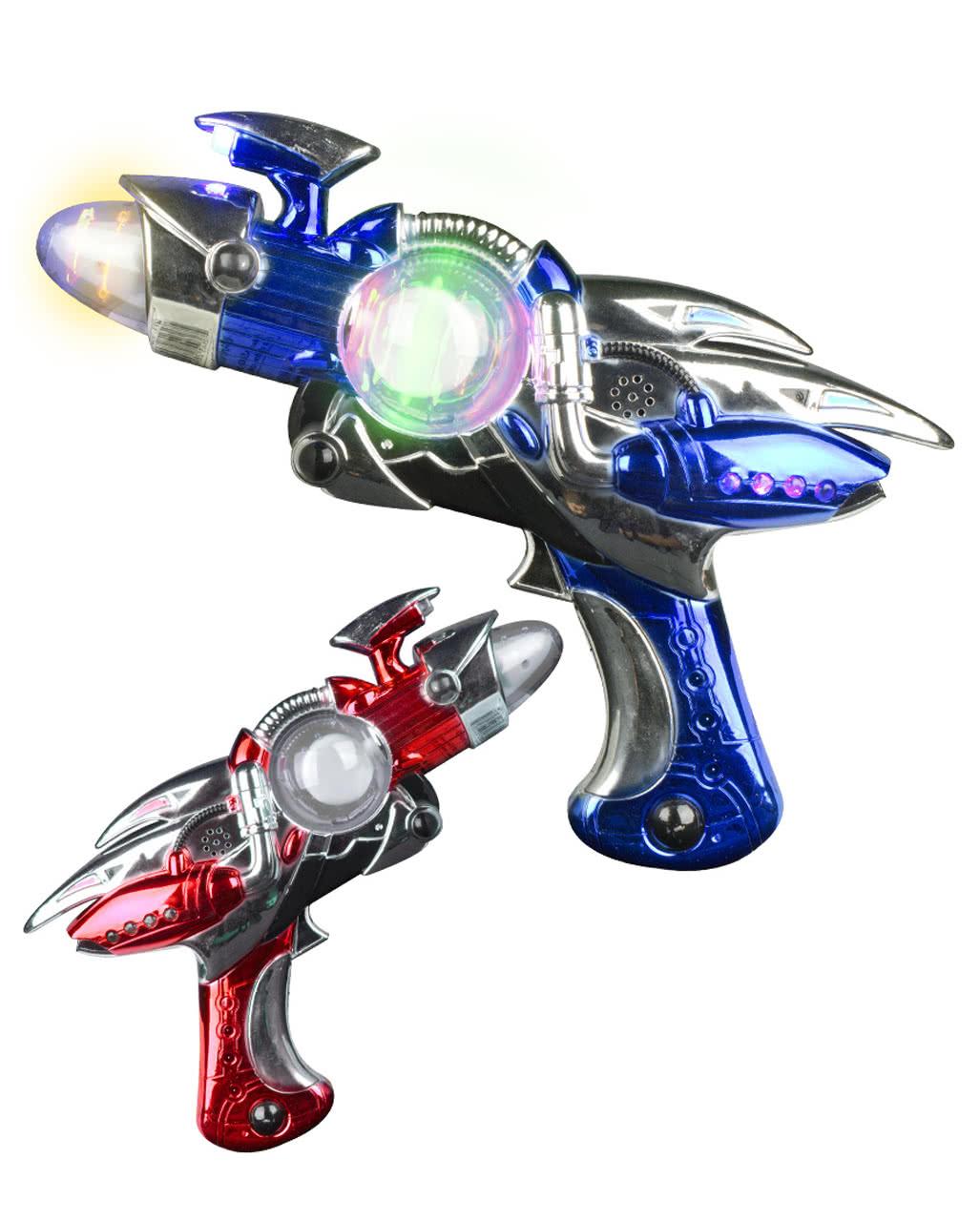 LED Space Flash Blaster Phazer Licht & Sound ☆ | Horror-Shop.com