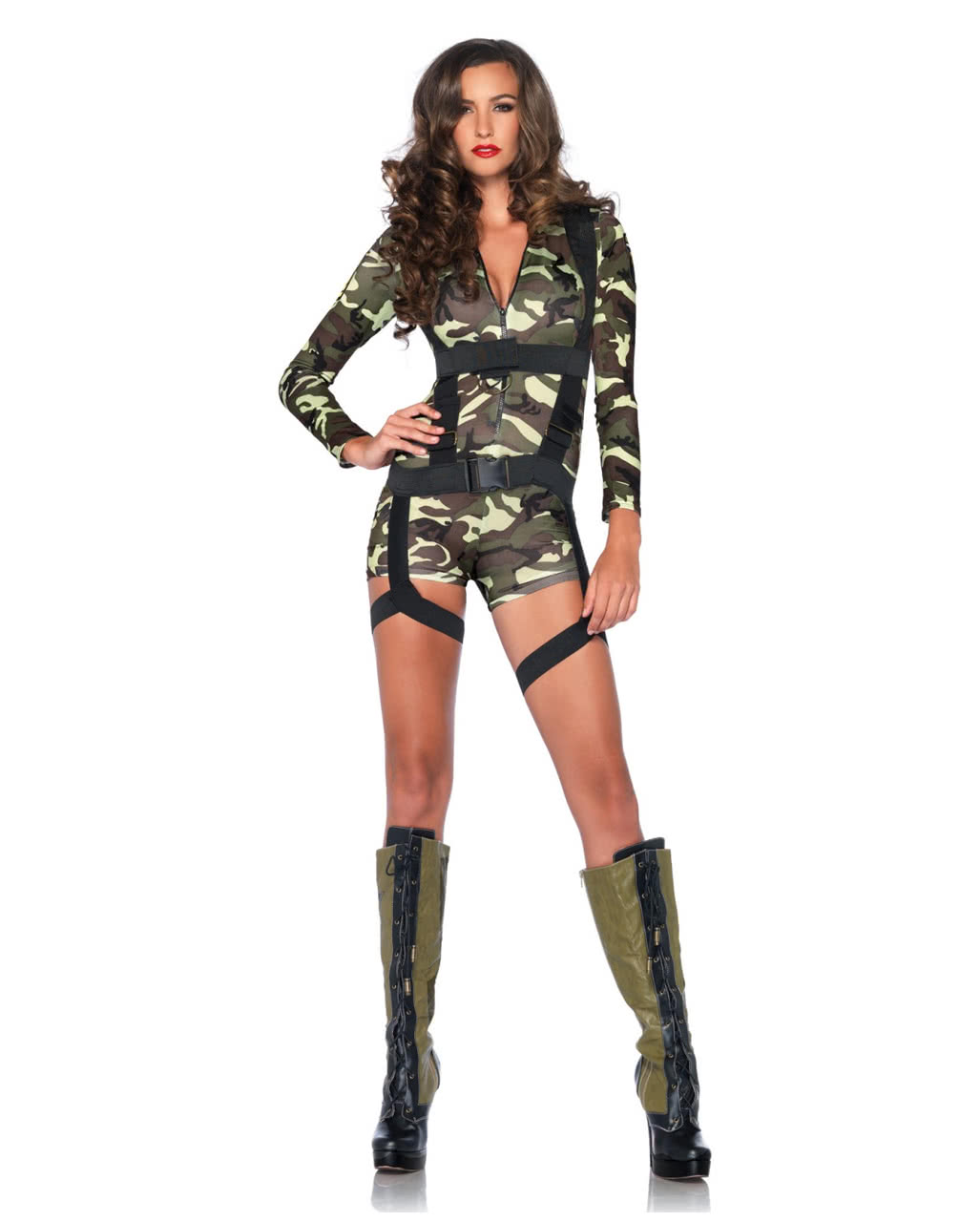 Sexy Fallschirmjägerin Kostüm Hier Kaufen Horror Shopcom
