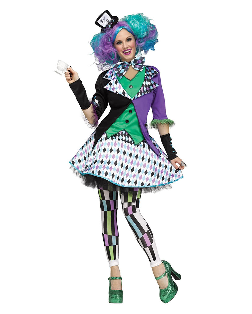 Mad Hatter Costume As Fairy Costume Horror Shop Com