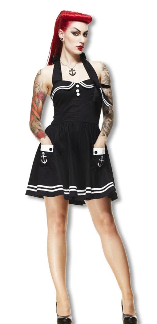 Matrosen Pinup Petticoat Kleid Rockabilly Pinup 50er Jahre Fashion ...