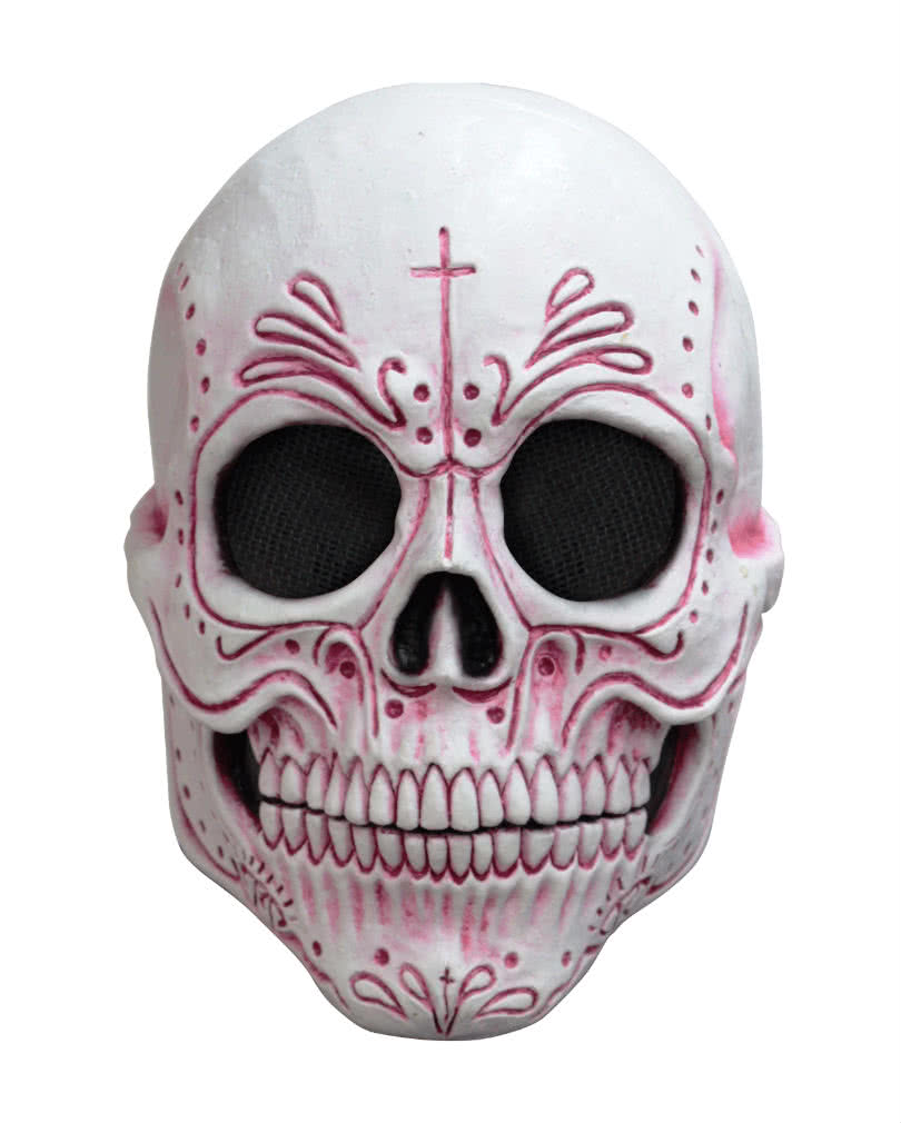 Mexican sugar skull mask catrina mask for halloween horror mexican sugar skull mask biocorpaavc Images