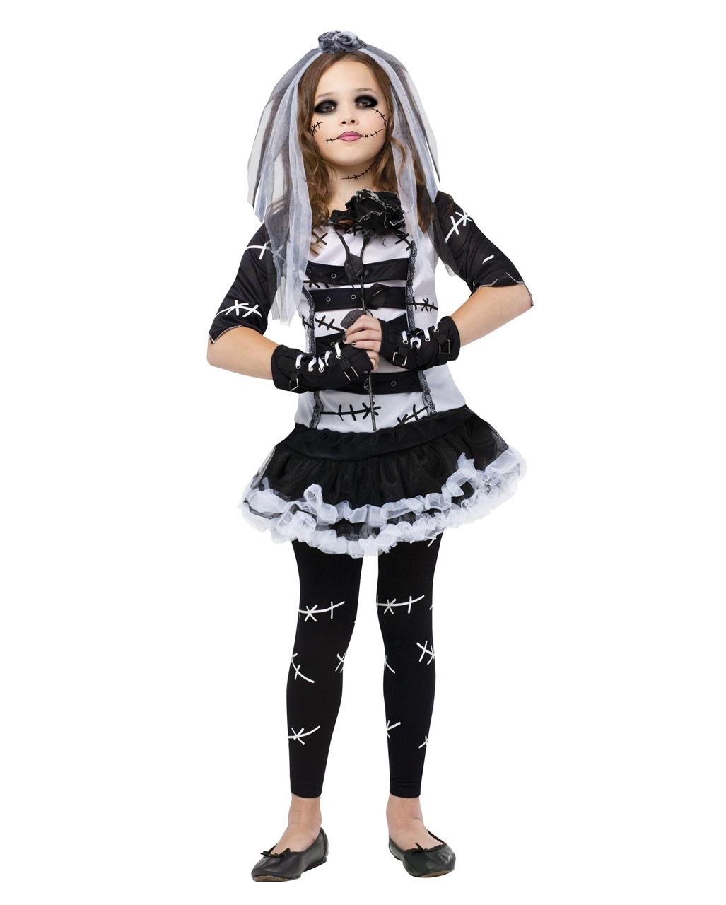 monster bride child costume zombie bride costume | horror-shop