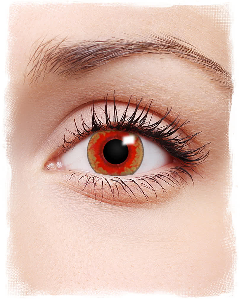 Charming Monster Contact #9: Red Monster Contacts ...