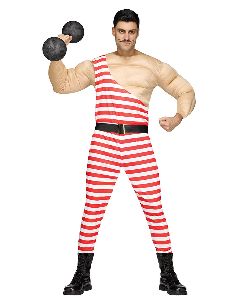 Circus Muscle Man Costume For Carnival Horror Shop Com