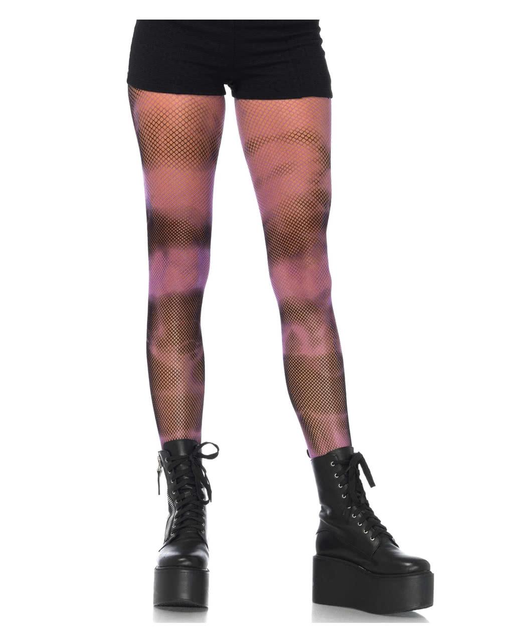 d68efb2d80519 Fishnet pantyhose batik look ☆ Gothic Fashion | horror-shop.com