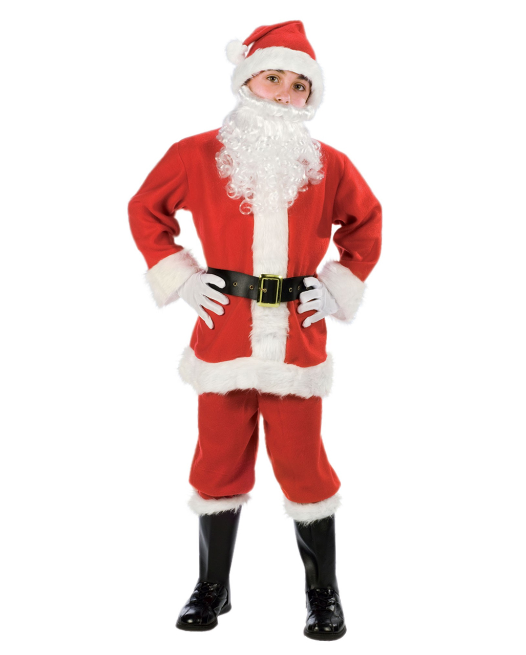 Santa claus kid costume with cap to buy horror shop solutioingenieria