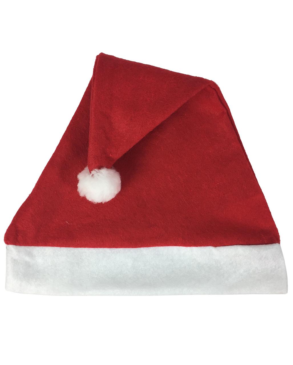 861c56a4485c92 Santa Claus hat Economy | Santa Hat of red felt | horror-shop.com