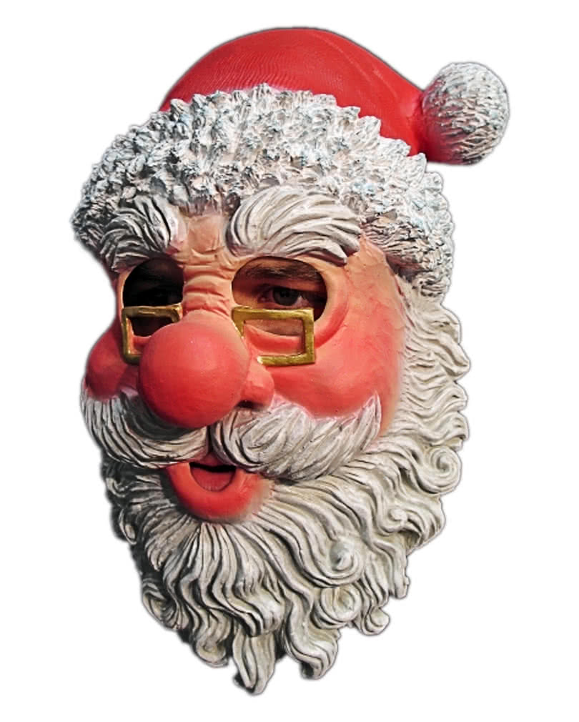 f74ea85aca0 Santa Claus Mask With Glasses And Beard Santa Claus mask from LAtex ...