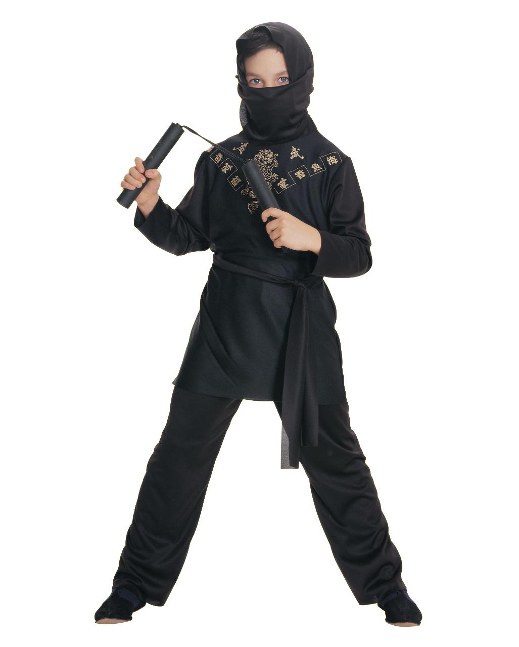 Ninja Kinder Kostum Fur Halloween Fasching Horror Shop Com