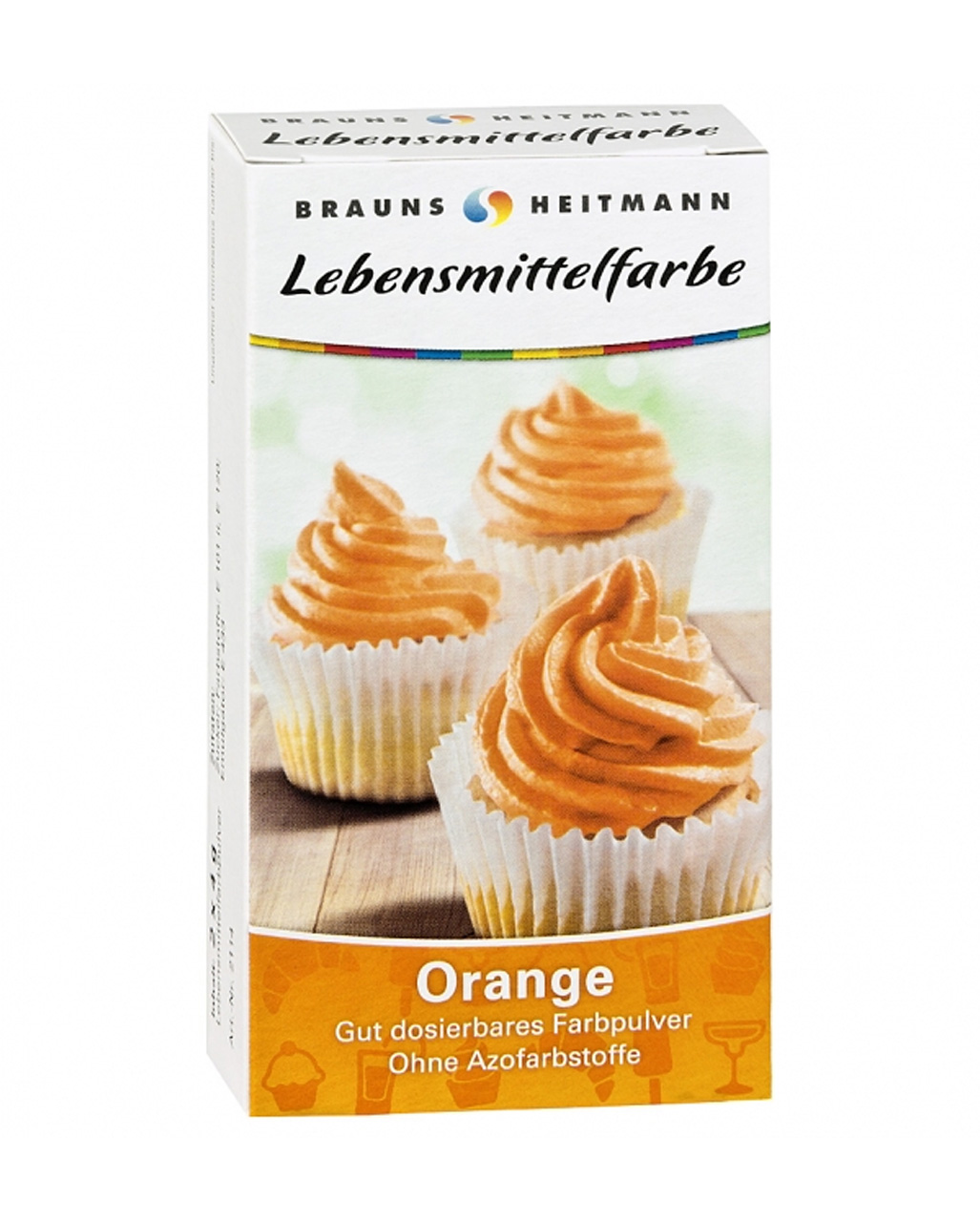 Food color orange | Colorful food coloring | horror-shop.com
