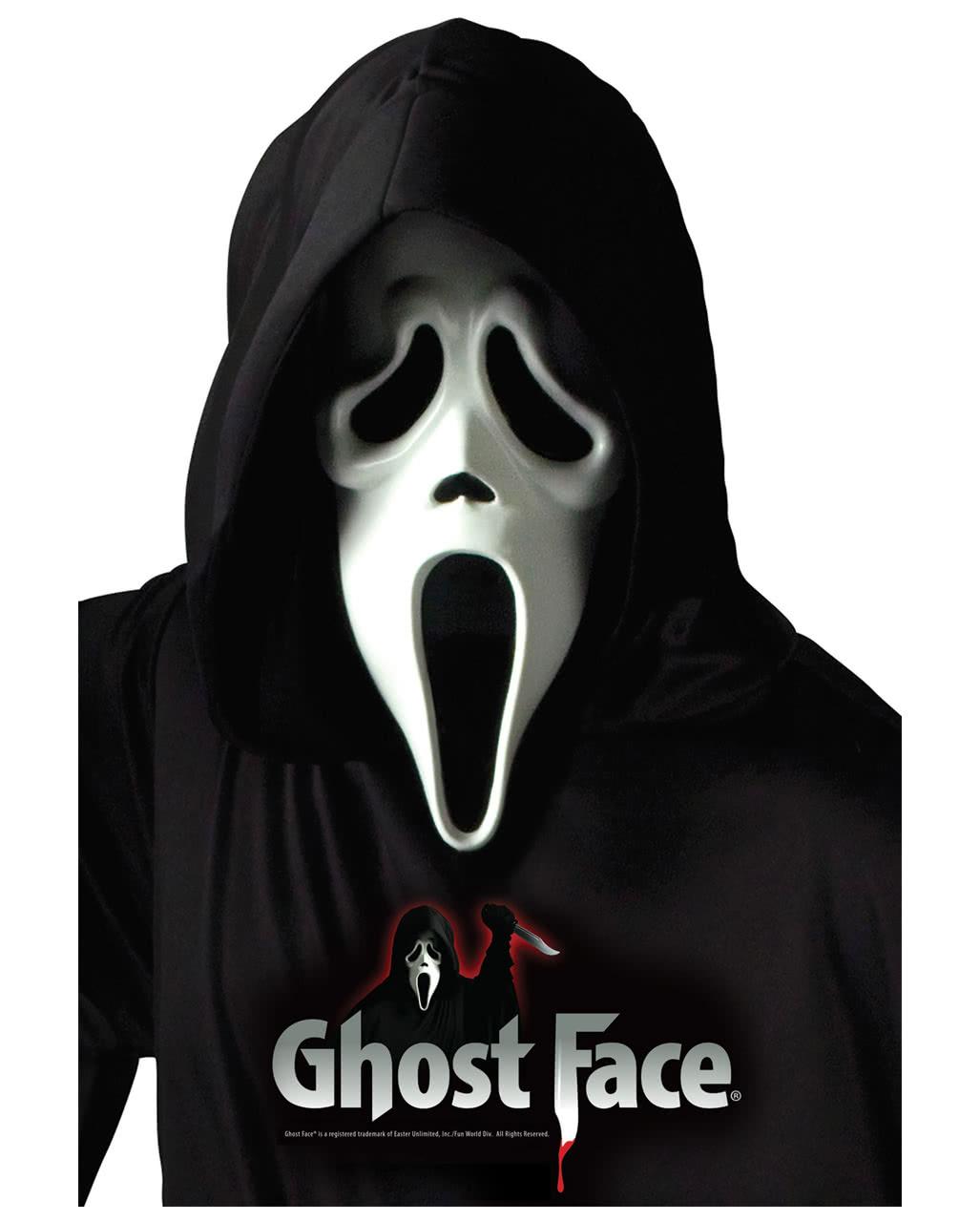 Original Scream Maske Ghost Face Maske Von Wes Craven Horror