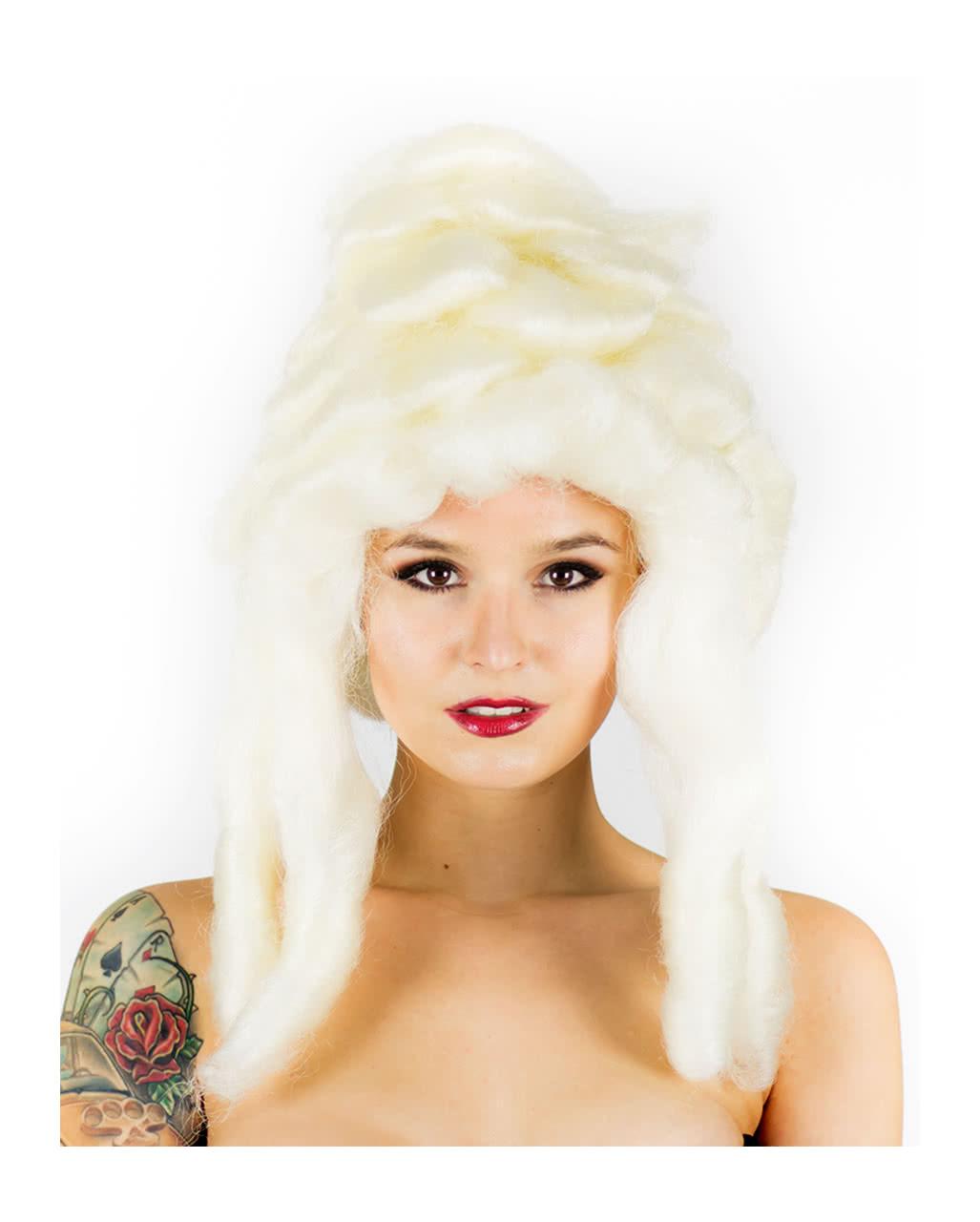 Marie Antoinette Wig Blond