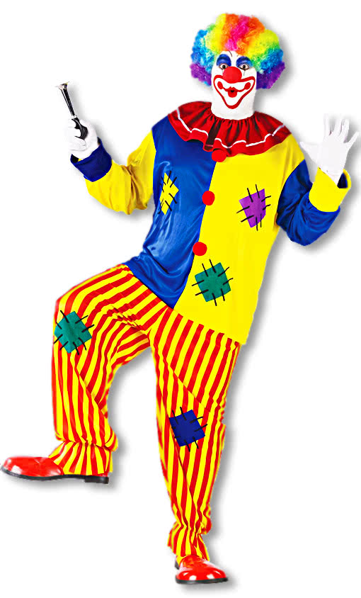 Pfiffikus The Clown Clown Costume Adults Clown Pants And Shirt