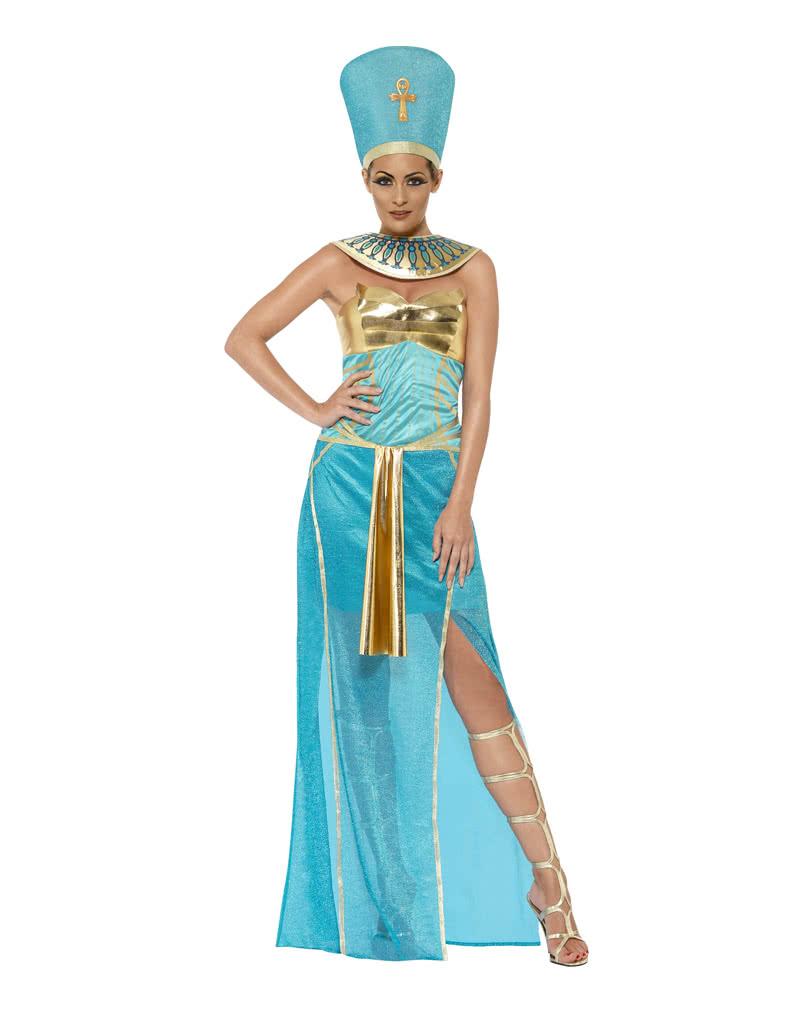 Pharaoh Nefertiti Costume for royal Halloween parties | horror-shop.com