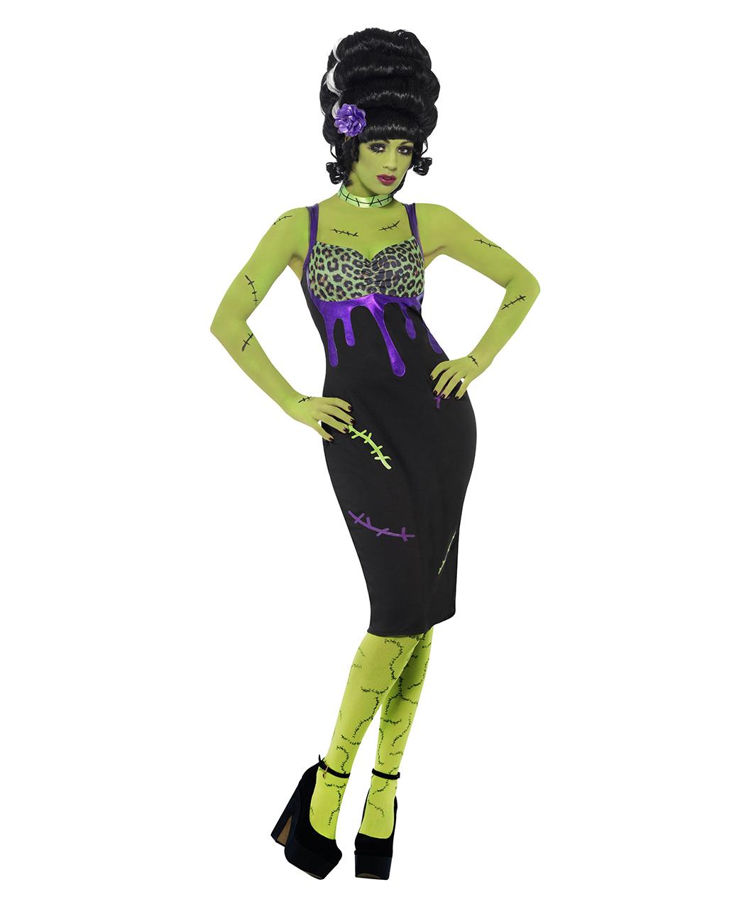 1aba4532c70b0 Pin Up Frankie Stein Costume I Sexy Frankenstein's Bride Costume    horror-shop.com