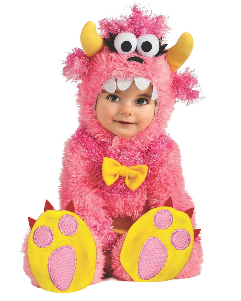 Pink Mini Monster Babykostum Fur Halloween Horror Shop Com