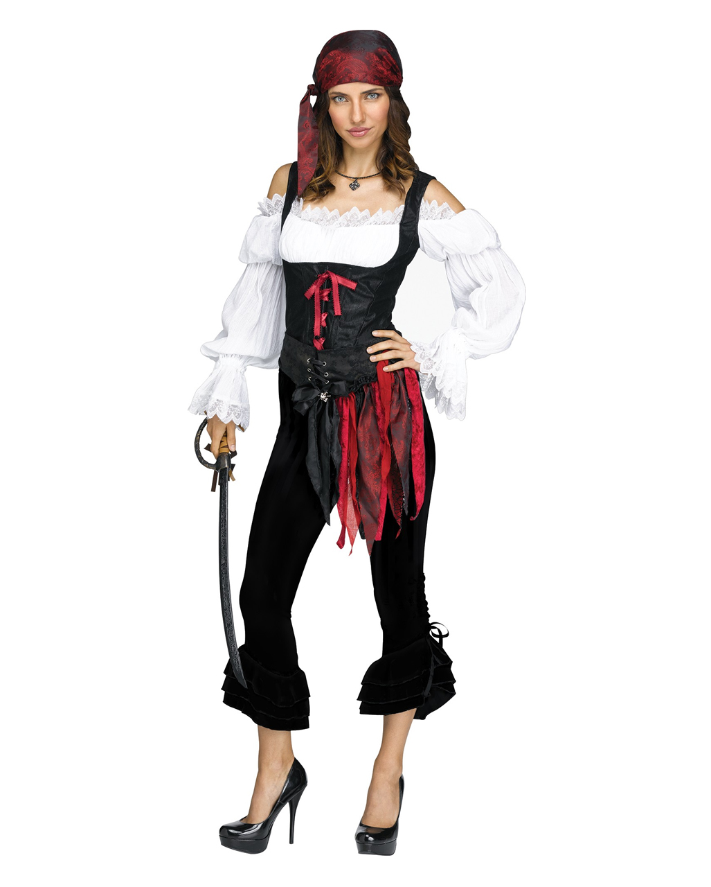 Pirate costume pants black for halloween horror shop pirate costume pants black solutioingenieria Images