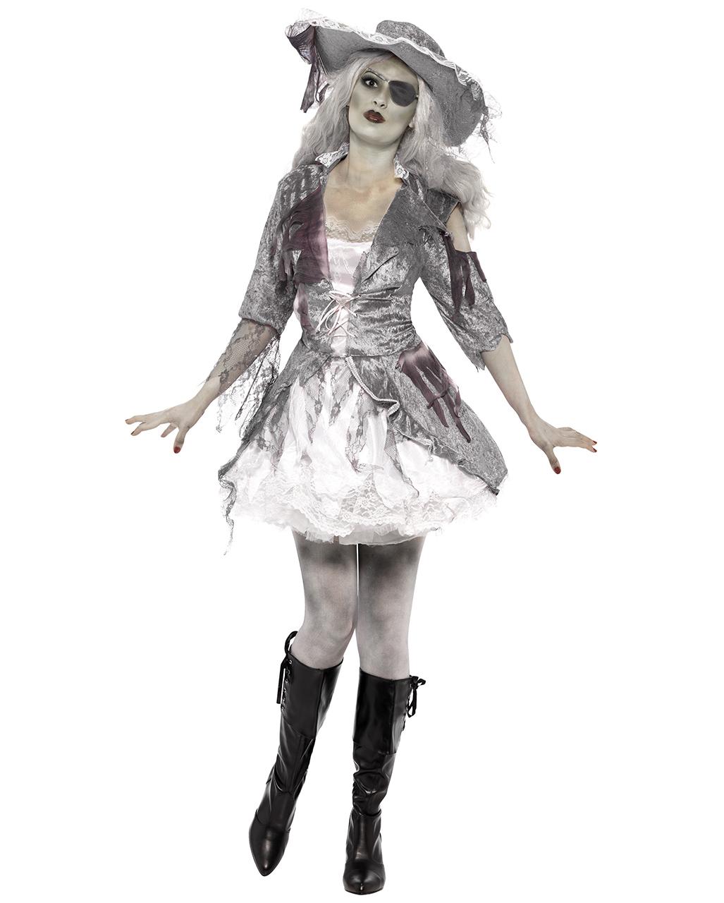 Ghost Ship Pirate Babe Costume I Undead Pirate Bride Costume