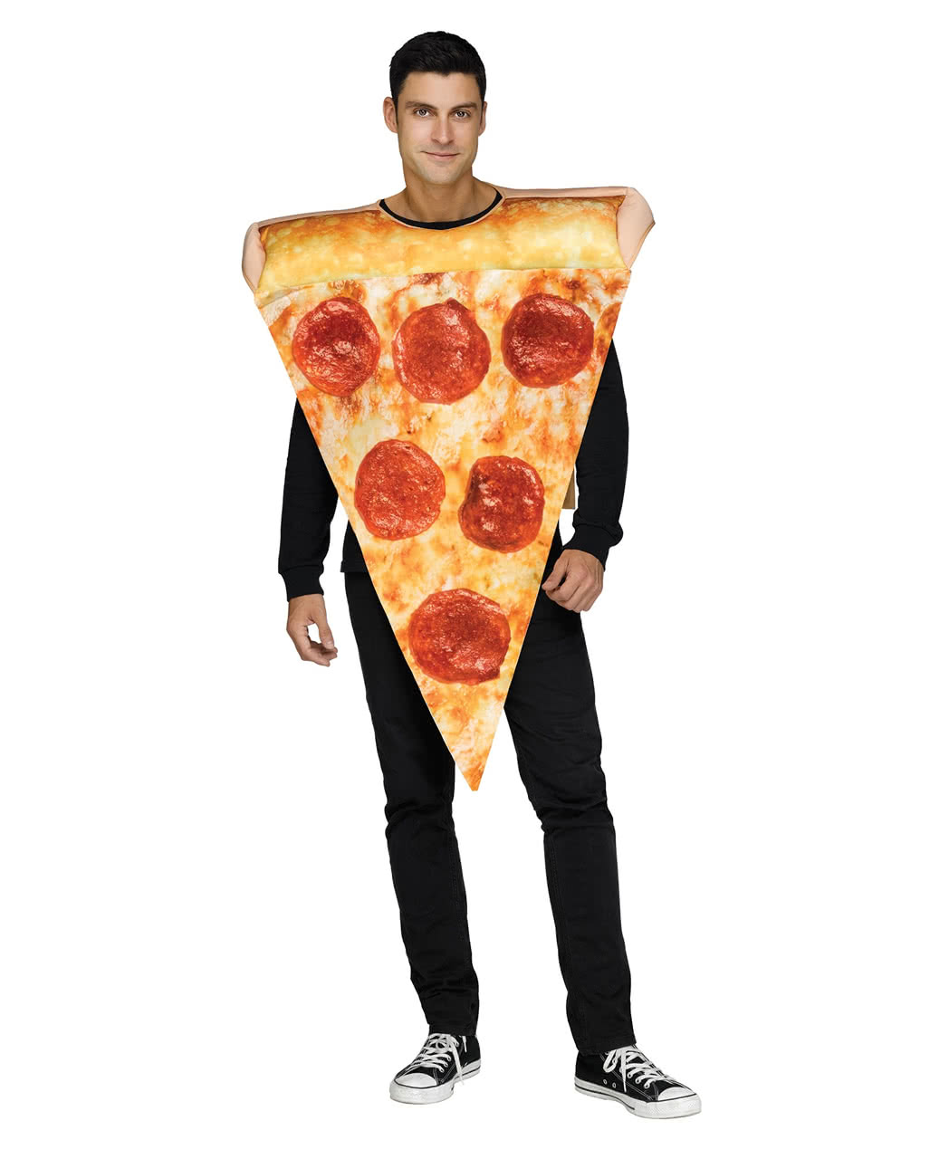 Unisex Pizza Costume ...  sc 1 st  Horror-Shop.com & Unisex Pizza Costume For carnival | horror-shop.com