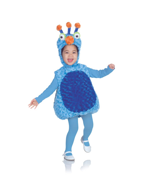 Plüsch Monster Kinderkostüm | flauschige Kostüme für Babys | Horror ...