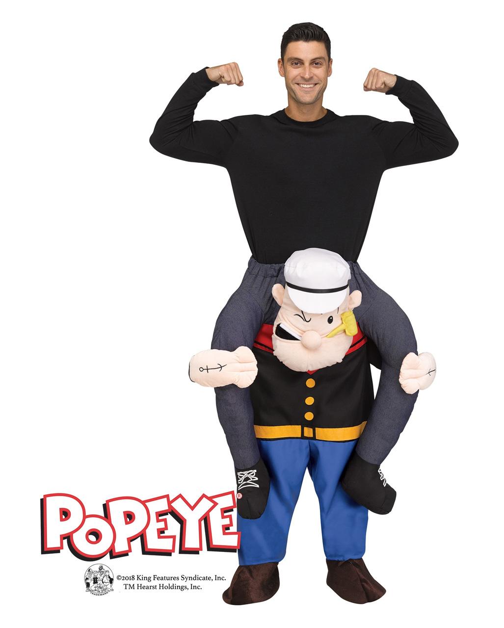 Popeye Carry Me Costume ...  sc 1 st  Horror-Shop.com & Popeye Carry Me Costume | Sailors gag disguise | horror-shop.com