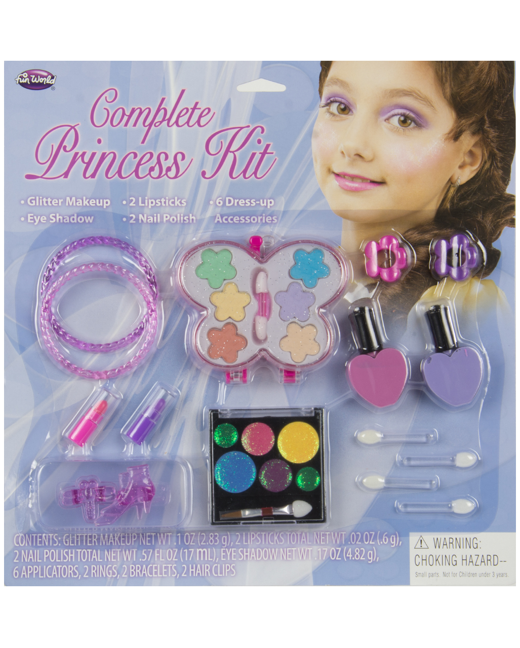 Princess Kids Make Up Set 10 Pieces Horror Shop Com