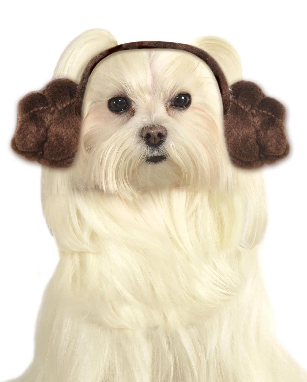 Princess Leia Dog Frisur As A Dog Costume Horror Shopcom