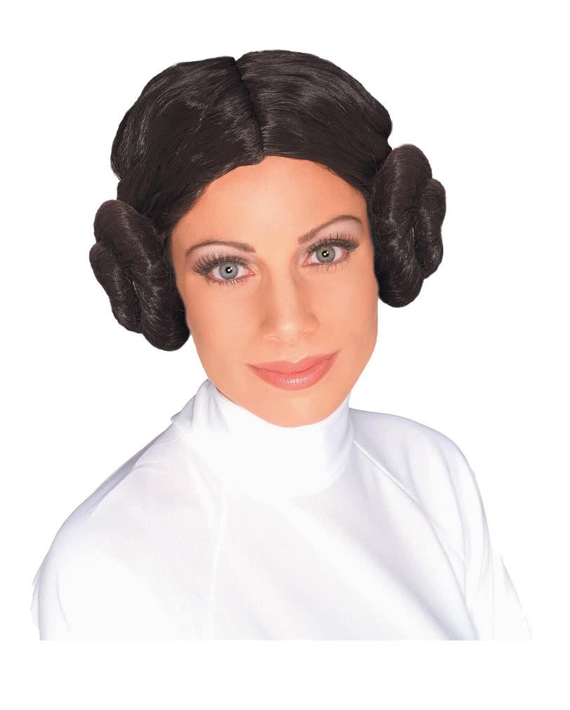 Prinzessin Leia Perücke Lizenzierte Star Wars Damen Frisur