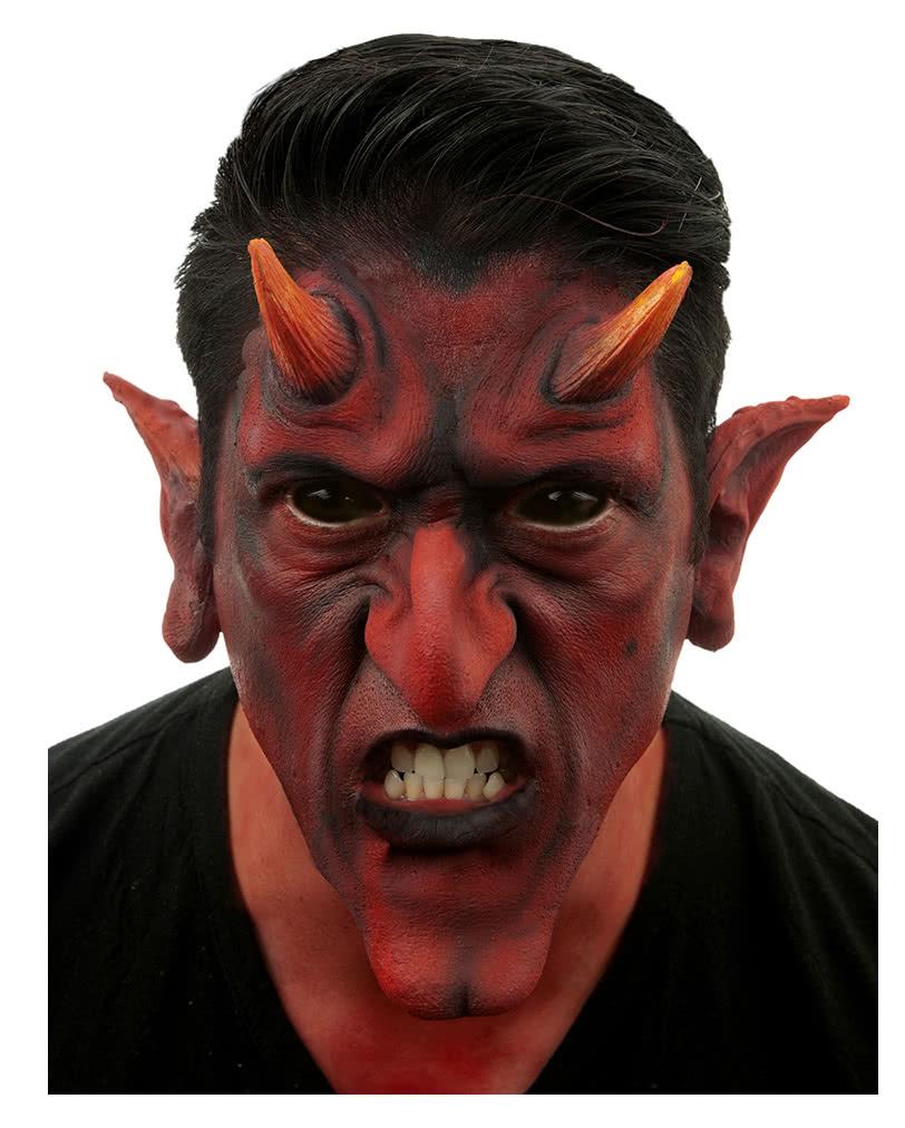 Red Devil Latex Applikation Teufel Make Up Selber Schminken
