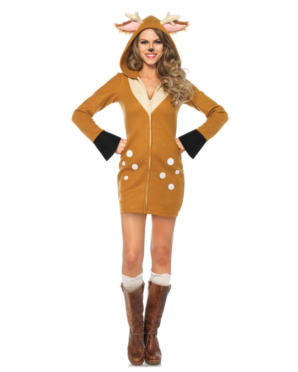 Rehkitz Ladies Costume Bambi Costume Horror Shop Com